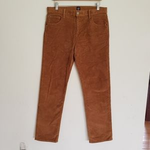 GAP Denim Stretch Slim Khaki Cords Corduroy Pants